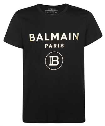 Balmain TH01601I315 FOIL T-shirt