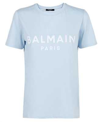 Balmain WF1EF000B044 FLOCKED LOGO T-shirt