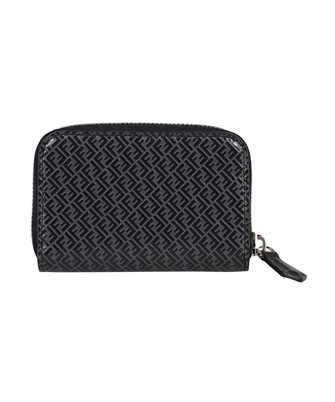 Fendi 7M0257 AGLP SMALL ZIP Porta carte di credito