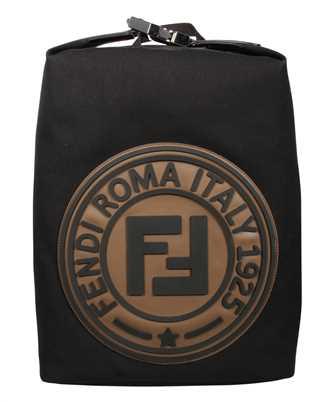 Fendi 7VZ044 A4TJ LOGO CANVAS Backpack
