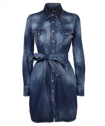 Dsquared2 S72CV0216 S30341 BOYFRIEND SHIRT Dress