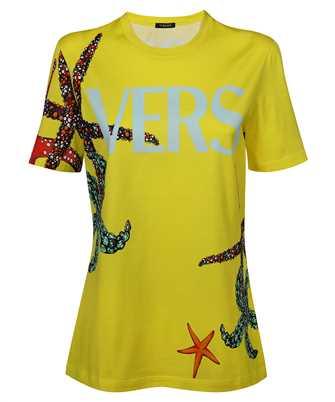 Versace A89357 1F01179 TRÉSOR DE LA MER PRINT T-shirt