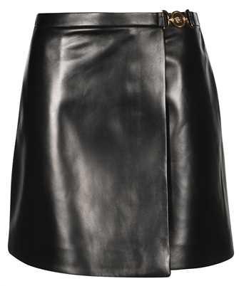 Versace 1001339 1A00984 MEDUSA NAPPA LEATHER MINI Skirt