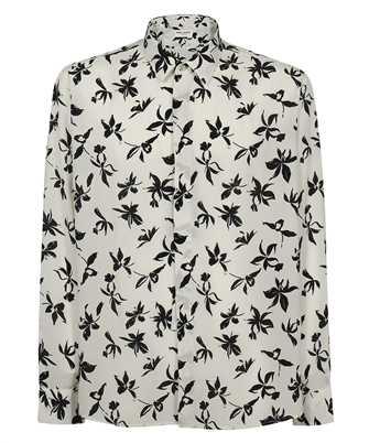 Saint Laurent 646850 Y2C16 WILD ORCHID SILK Shirt
