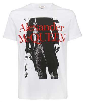 Alexander McQueen 662544 QRZ59 ATELIER PUNK T-Shirt