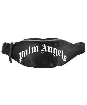 Palm Angels PMNO004F21LEA001 CURVED LOGO Belt bag