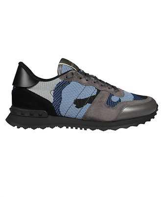 Valentino Garavani VY2S0723QRK MESH FABRIC CAMOUFLAGE ROCKRUNNER Sneakers