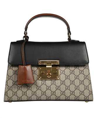 Gucci 453188 KLQJG PADLOCK SMALL GG TOP HANDLE Tasche