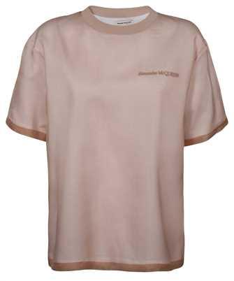 Alexander McQueen 654002 QLAAA ORGANZA SIGNATURE T-Shirt