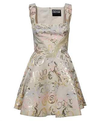 Versace Jeans Couture D2HWA425 11717 LOGO BAROQUE PERLA Kleid