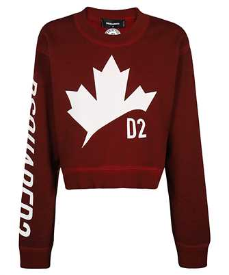 Dsquared2 S75GU0332 S25030 D2 LEAF ASYMMETRIC Sweatshirt