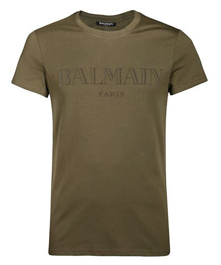 Balmain W8H8601I259 T-shirt