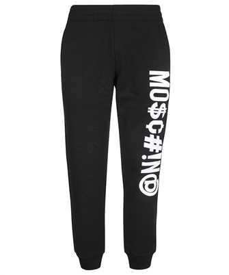 Moschino A 0356 7027 SYMBOLS LOGO COTTON Trousers