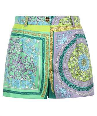 Versace A85704 1F00385 BAROCCO MOSAIC PRINT SILK Shorts
