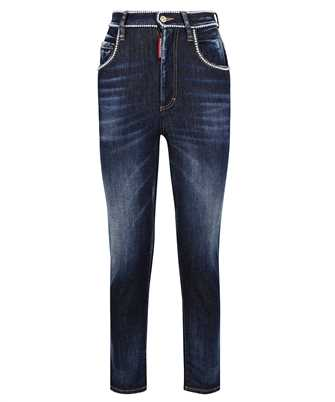 Dsquared2 S75LB0552 S30685 HIGH WAIST CROPPED TWIGGY Jeans