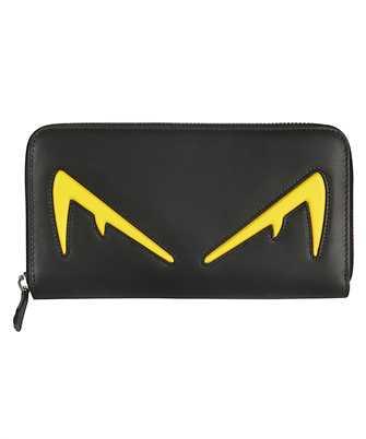 Fendi 7M0210 A80S ZIP AROUND Wallet