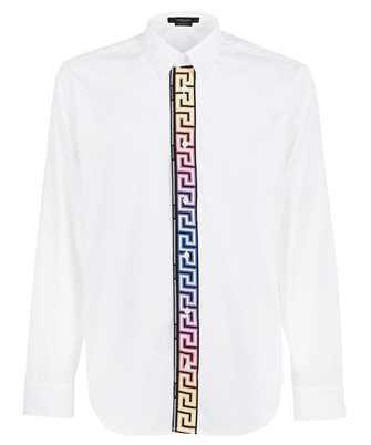 Versace 1000861 1A00623 GRECA ACCENT COTTON POPLIN Hemd