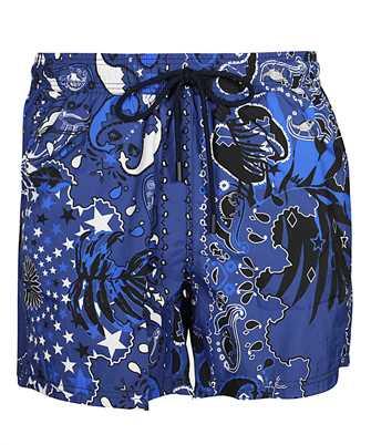 Etro 1B100 4128 BANDANA Swimsuit