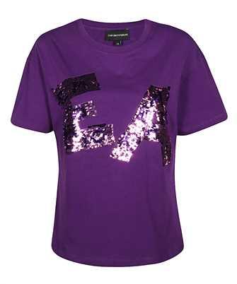 Emporio Armani 3H2T7K 2J53Z SEQUIN LOGO T-shirt