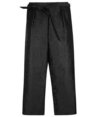 Saint Laurent 642381 Y2C77 COURT HAKAMA-PLEAT Trousers