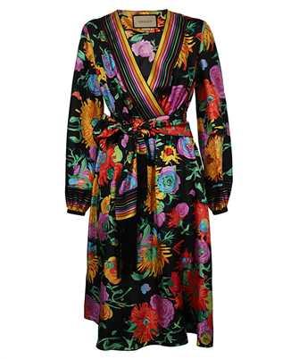 Gucci 650508 ZAGJU FLORAL Dress
