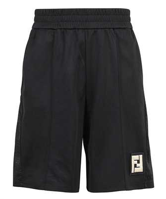 Fendi FAB603 A528 ACTIVE NY MESH Shorts