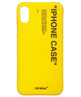 Off-White OMPA007F19294035 QUOTE iPhone X cover