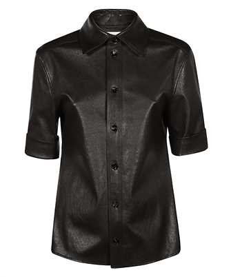 Bottega Veneta 646325 V05G0 STRETCH LEATHER Shirt