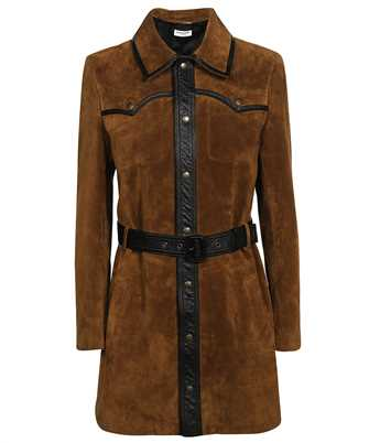 Saint Laurent 661328 YC2VV WESTERN-STYLE COAT Dress