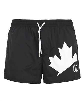 Dsquared2 D7B643640 ISA01 D2 LEAF Swim shorts