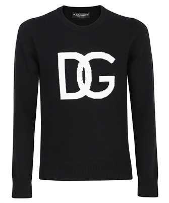 Dolce & Gabbana GXG73T JAW9K WHITE LOGO Knit