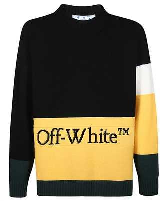 Off-White OMHE048E20KNI001 COLOR BLOCK Maglia