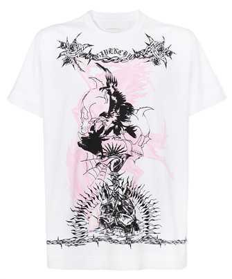Givenchy BM71583Y6B GOTHIC PRINTED OVERSIZED T-shirt