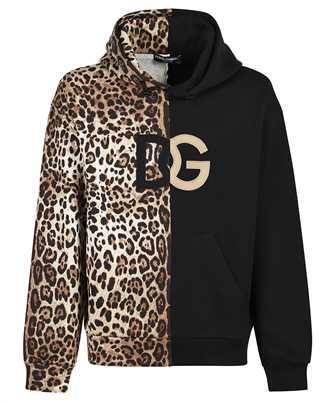 Dolce & Gabbana G9VQ4Z FU7DU LEO SENZA LOGO Felpa