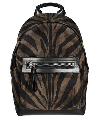 Tom Ford H0397P-LCL078 ZEBRA SUEDE Backpack