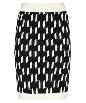 Karl Lagerfeld 216W1240 KL MONOGRAM KNIT Skirt