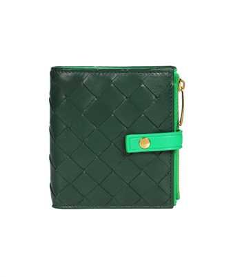 Bottega Veneta 600270 VCPP8 SMALL BI-FOLD ZIP Wallet