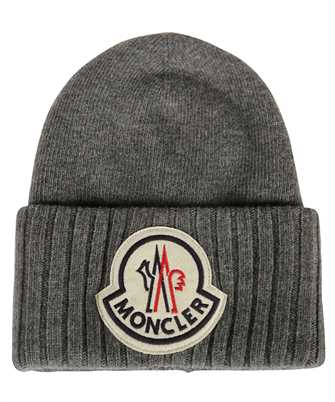 Moncler 99262.00 A9186 LOGO EMBROIDERED Beanie
