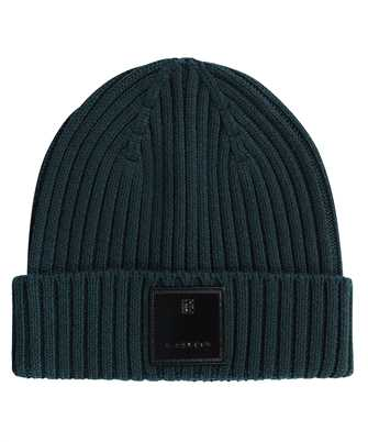 Givenchy BPZ02W P0EV RIBBED WITH PATCH Beanie