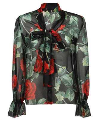 Dolce & Gabbana F5N69T IS1JB ROSE PRINT Shirt