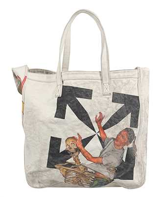 Off-White OMNA136F20FAB001 PASCAL VINTAGE CANVAS Tasche