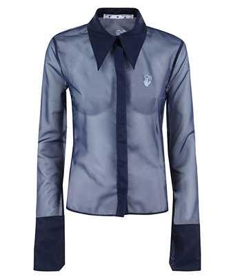Off-White OWGA083F20FAB002 ORGANZA Shirt