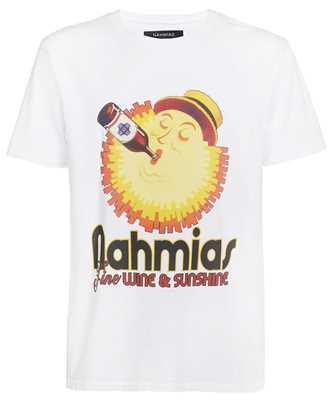 Nahmias WSTSHIRT WHITE WINE AND SUNSHINE T-shirt