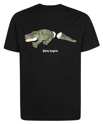 Palm Angels PMAA001E20JER013 CROCO T-shirt