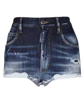 Dsquared2 S75MU0384 S30342 MEDIUM 4 WASH DENIM HOT Shorts