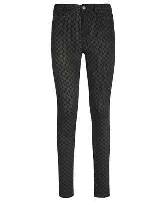 Karl Lagerfeld 216W1102 MONOGRAM SKINNY Jeans