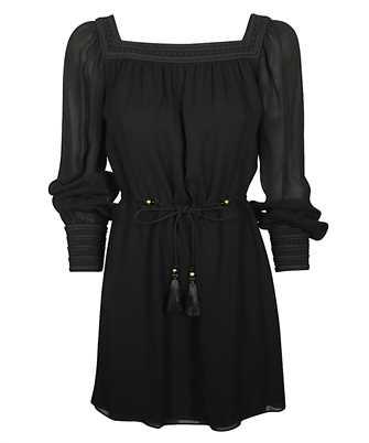 Saint Laurent 608598 Y103W SQUARE-NECK Dress