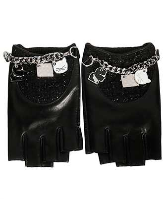 Karl Lagerfeld 96KW3601 K/CHARMS TWEED Gloves