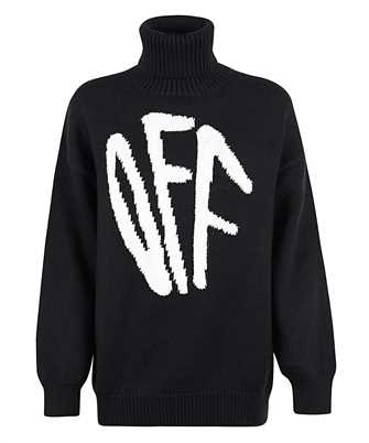Off-White OWHF008F20KNI001 GRAFFITI Knit