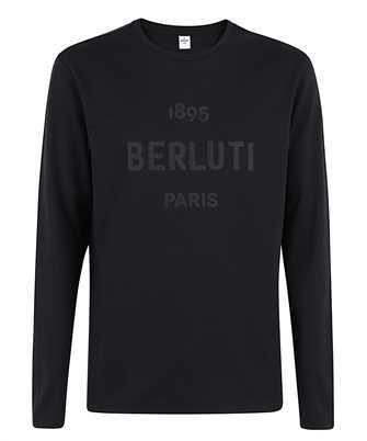 BERLUTI R19JRL52 002 EMBROIDERED LOGO T-shirt